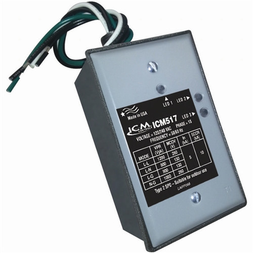 ICM Controls ICM517 Single Phase Surge Protector With NEMA Type 3r Rated Enclosure
