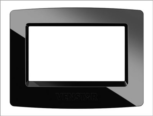 Venstar ACC-FP1BL Black Face Plate For Color Touch Thermostat