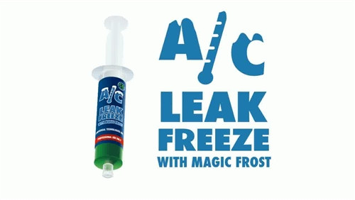 A/C Leak Freeze With Magic Frost 00282 1.5 OZ Cartridge