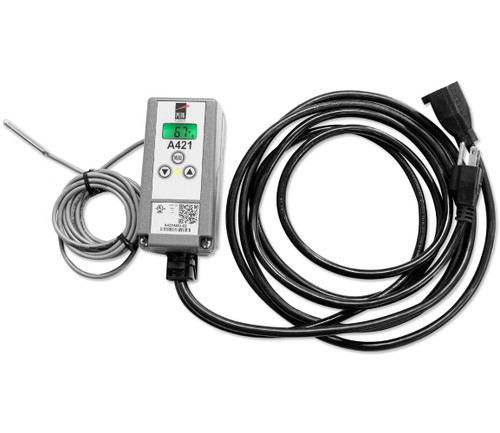 Johnson Controls A421ABG-02C Electronic Temperature Control With Pre Wired Power Cords