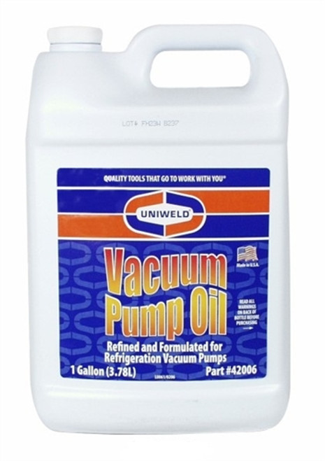 Uniweld 42005 1-QUART VACUUM PUMP OIL (12 PER CASE)