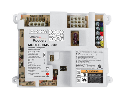 White Rodgers 50M56U-843 Universal Integrated Control