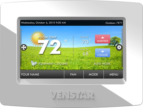 Venstar T7850 ColorTouch 7 Day Programmable Thermostat With Built In WiFi Replaces T5800 With ACC0454 Skyport