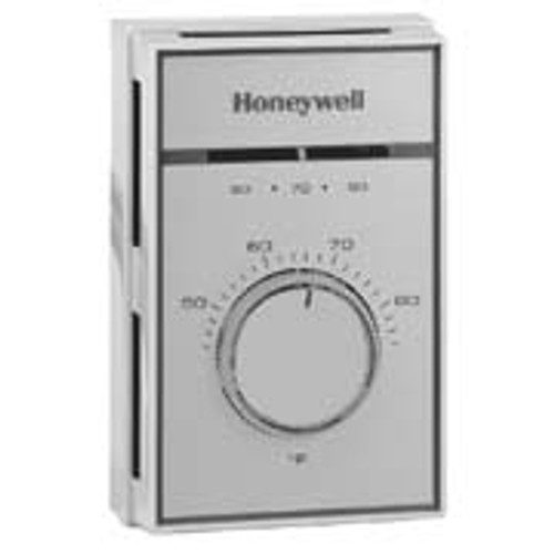 Honeywell T451a3005 Line Voltage Thermostat Range 44-86F