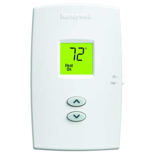 Honeywell TH1100DV1000 PRO 1000 Vertical Non-Programmable Heat Only Thermostat