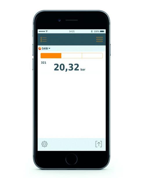Testo 549i Refrigeration Pressure Smart and Wireless Probe