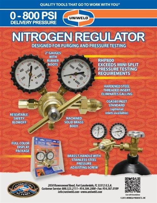 RHP800 Nitrogen Regulator
