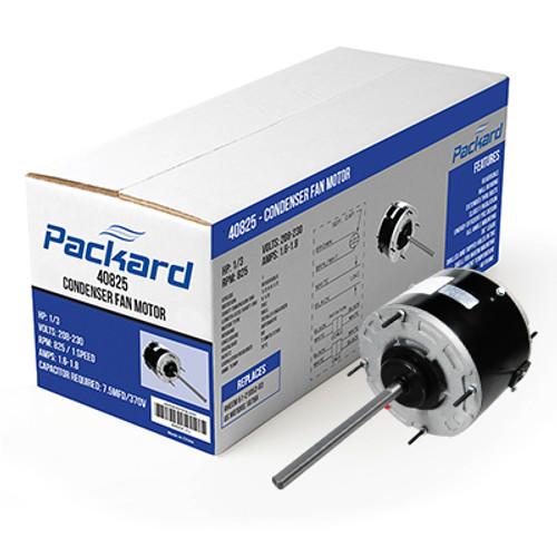 """Packard 43732 5 5/8"""" Diameter Condenser Fan Motor, 1/4 HP, 208-230 Volts, 1075 RPM"""