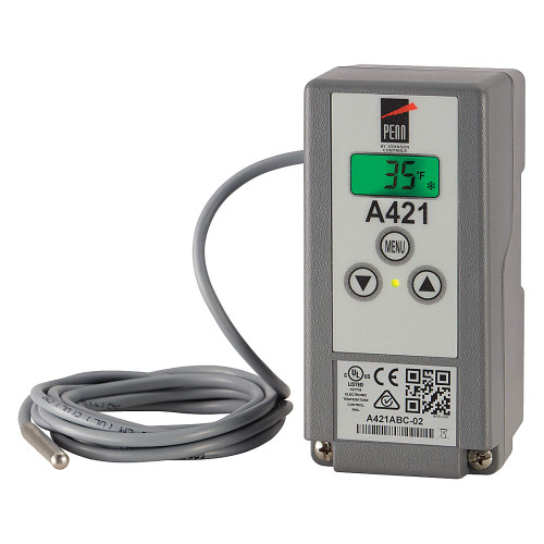 Johnson Controls A421ABC-02C Electronic Temperature Control (previously A419ABC-1C)