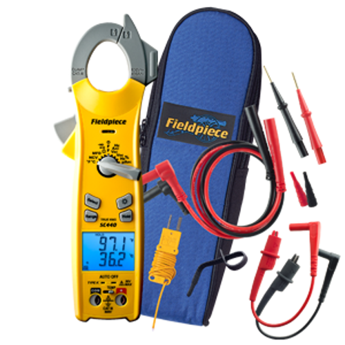 Fieldpiece SC440 Essential Clamp Meter With True RMS (Replaces SC77)