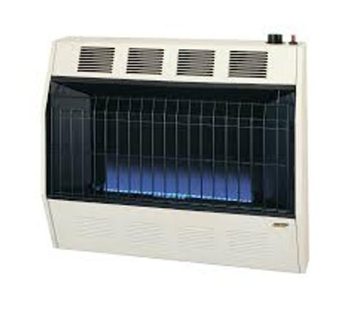 Cozy BFT301 Blue Flame Vent Free Heater 30,000 BTU