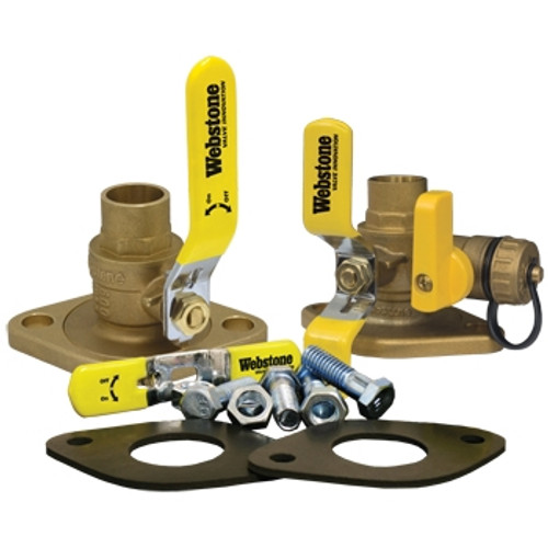 "Webstone 51415KIT 1 1/4"" Sweat Isolator Circulator Pump Install Kit With Rotating Flange"