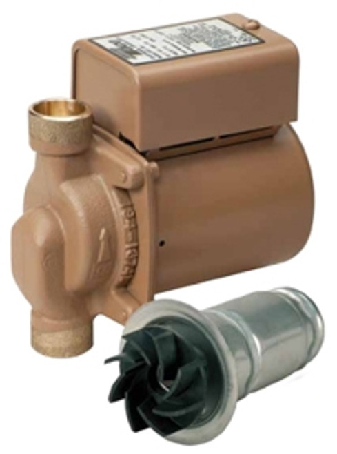 "Taco 006-B4 3/4"" Bronze Sweat Circulator Pump 1/40 HP"