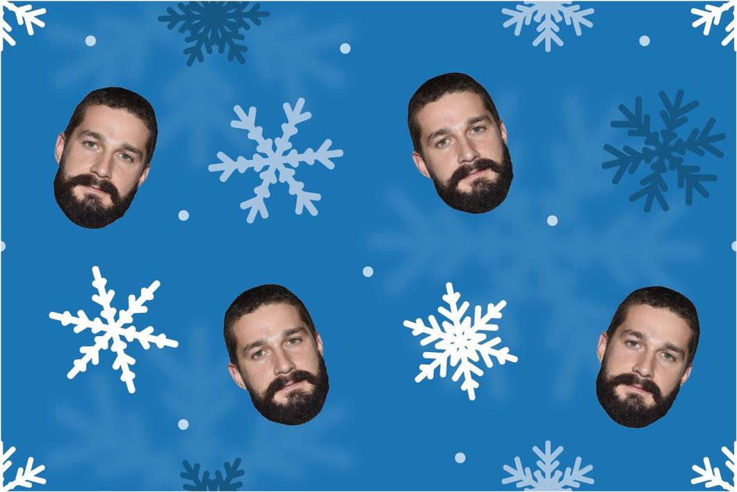 Snowflake Christmas Gift Wrapping