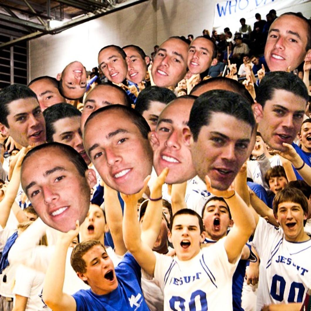 Basketball Big Head Cutouts