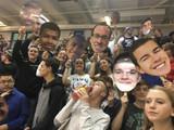 High School Basketball Senior Night Big Head Cutouts