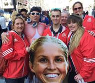 How Marathon Big Heads Help Inspire Runners