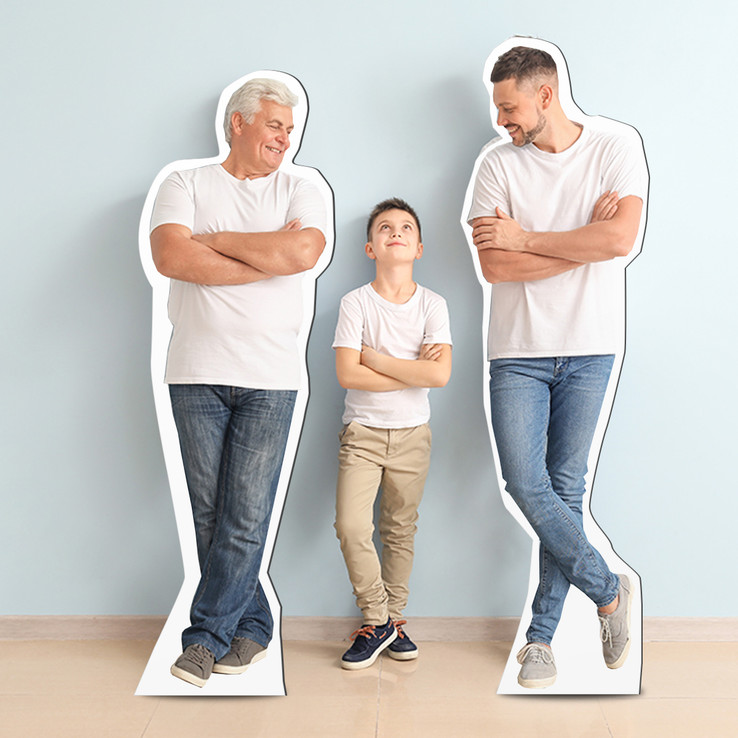 6-Foot Life-Size Standup