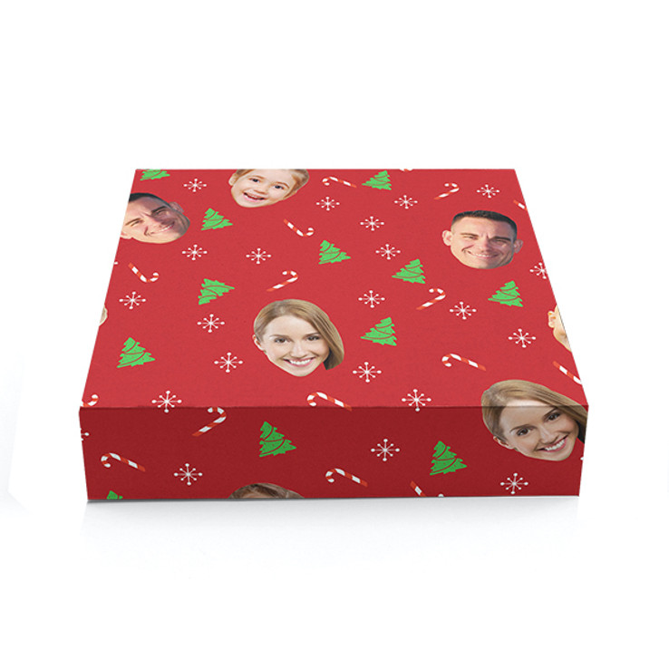 Holiday Faces Gift Wrapping