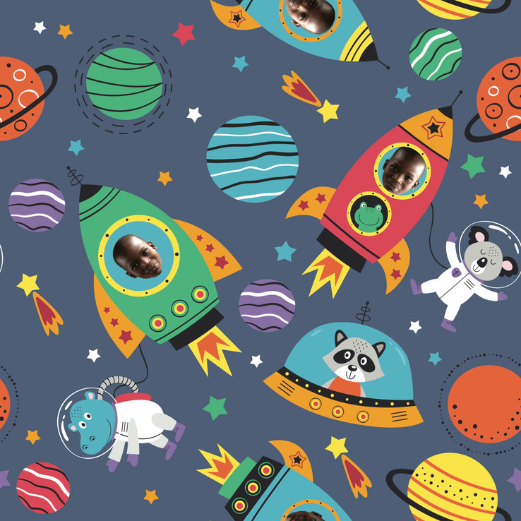 Out of This World Wrapping Paper