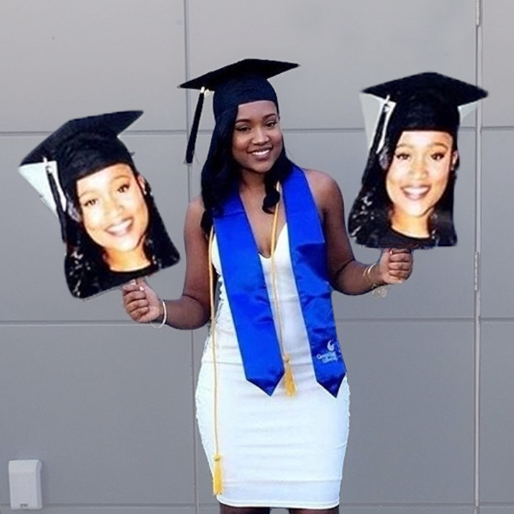 Graduation Big Head Cutouts