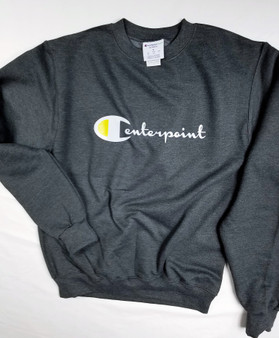 Centerpoint Sweatshirt made is a champion flavor on a champion brand sweatshirt  comfy and soft
