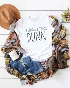 Getting things Dunn  If you love  Rae Dunn this is the shirt for you.