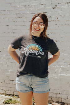 If you are looking for the tshirts to show your Arkansas pride on all your summer vacations this is the tee for you super soft and comfy