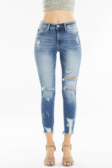 Shiloh High Rise Skinny These are so cute and perfect! They are great to wear anywhere because the rips aren't to high which makes them perfect for back to school as well.