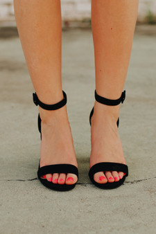 iris open toe heels  - the perfect little black heels for any occasion, we love them here at bjt