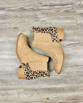 Maddy Cheetah Booties- these cute taupe cheetah booties are a must for all the cheetah lovers!