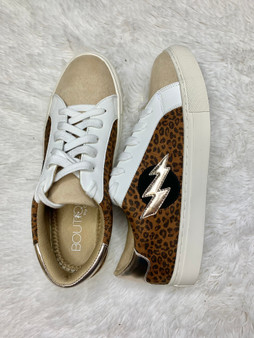 Kali Leopard Sneakers - low top silhouette is retro in all the right ways, with a cool color block pattern.