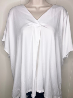 Naomi V-Neck Top, Comfortable and soft top! Comes in Black, White, and Rose.