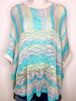 Edith Knitted Sweater - A pretty multi color sweater!