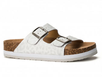 Beach Babe Sandals - these sandals are the perfect fun sandal for summer, they can be dressed up or worn casual. the straps can be adjusted to your liking.
