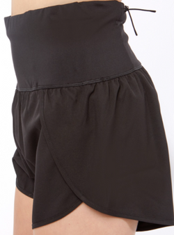 dalia shorts - Wear these shorts to the gym or while you run errands for maximum comfort. These shorts feature a back pocket with a zipper.