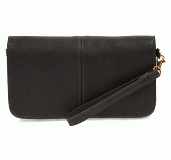 Small Crossbody with Wristlet available in a variety of colors.