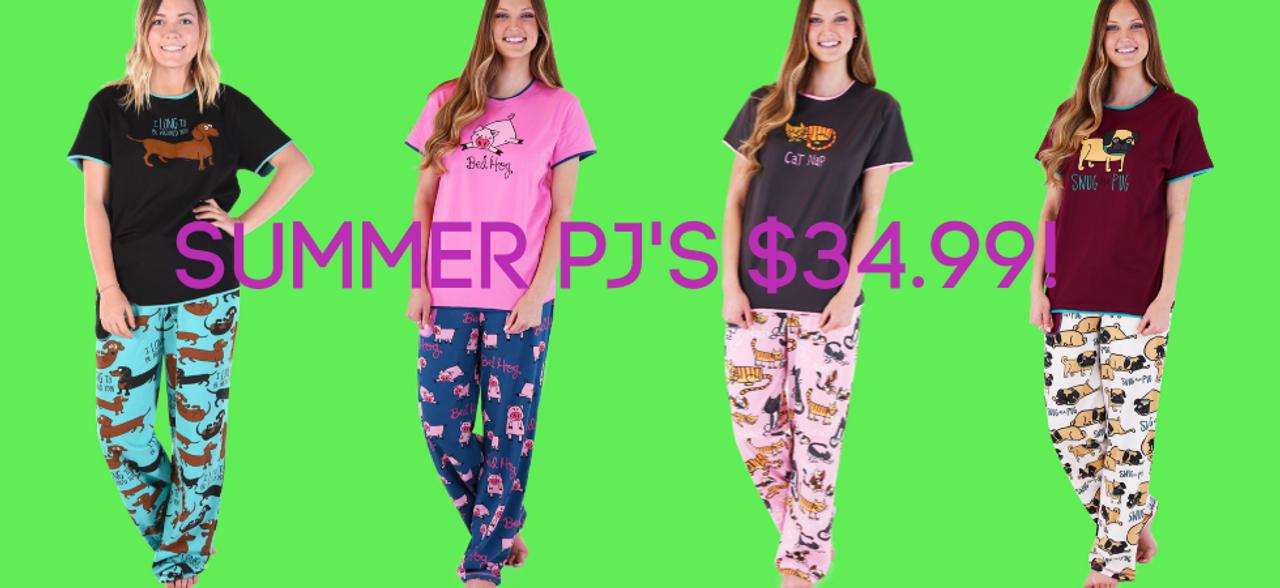 Pajama sets by Lazy One