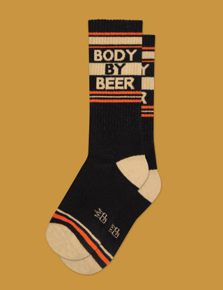 Body by Beer Socks by Gumball Poodle