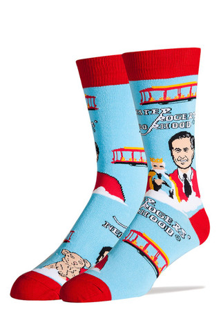 Mr. Rogers' Neighborhood socks by Oooh Yeah!