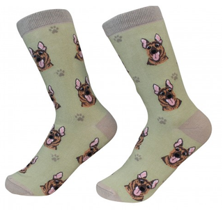 German Shepherd Socks by Sock Daddy