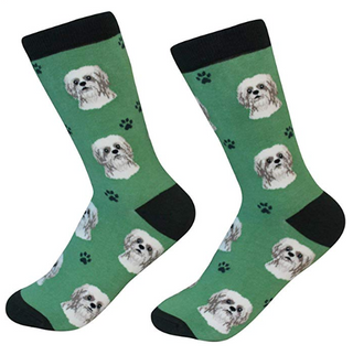 Shih Tzu Socks by Sock Daddy