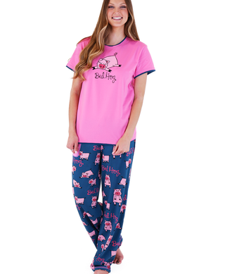 Bed Hog Pigs pajama set by Lazy One