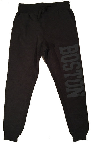Boston joggers in charcoal gray