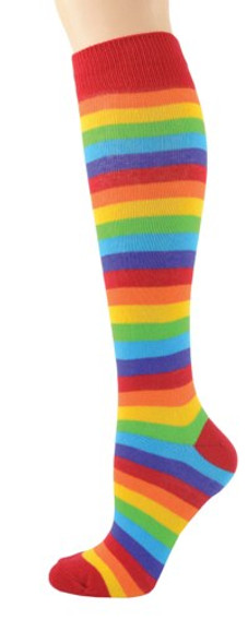 Rainbow Knee High Socks by Foot Traffic