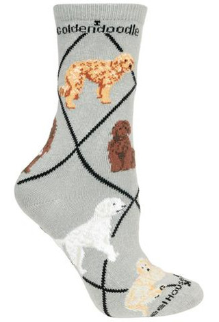 Goldendoodle Socks by Wheel House Designs