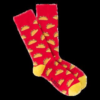 Taco Socks for Men by K. Bell