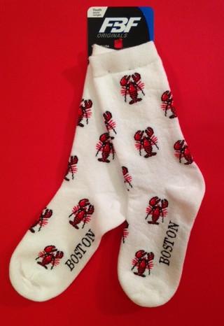 Boston Lobster socks for kids