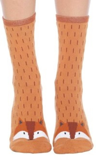 Fox Slipper Socks by Foot Traffic