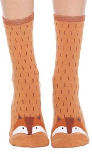 Fox Slipper Socks by Foot Traffic